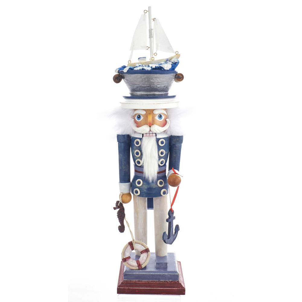 Kurt Adler 18-Inch Hollywood Sea Captain Nutcracker, HA0399