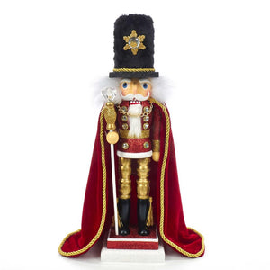 Kurt Adler 17-Inch Hollywood Elegant Soldier Nutcracker, HA0426