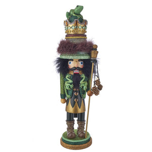 Kurt Adler 18-Inch Hollywood Frog King Nutcracker, HA0443