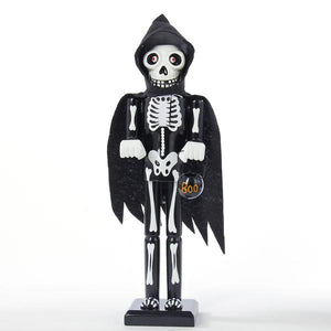 Kurt Adler 15-Inch Halloween Skeleton Nutcracker, HW1625