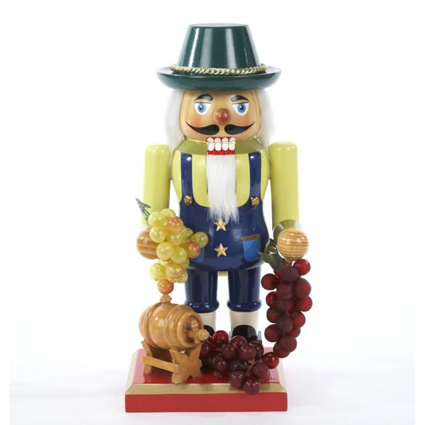 Kurt Adler 10.25-Inch Winemaker Nutcracker, J1276