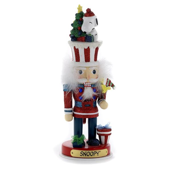 Kurt Adler 12-Inch Peanuts© Snoopy Hollywood Nutcracker, PN6133L