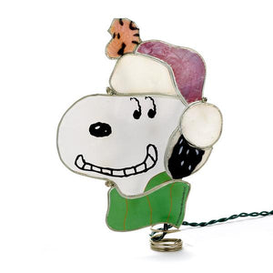 Kurt Adler Peanuts© Snoopy Lighted Treetop, PN9121