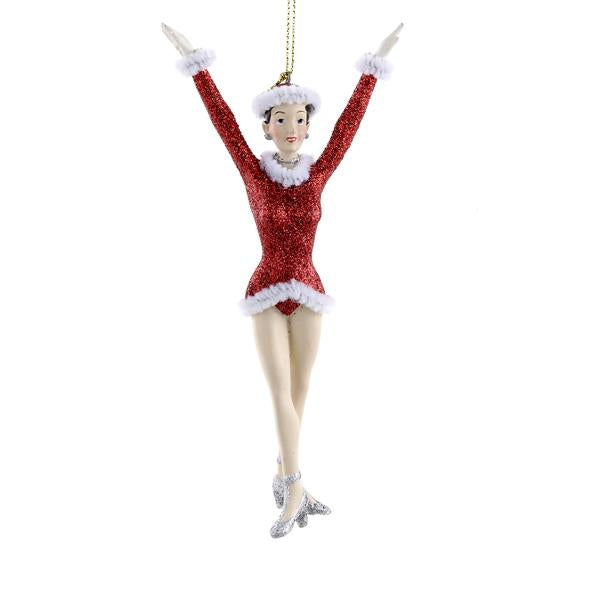 Kurt Adler Rockettes Girl Ornament, RK0007