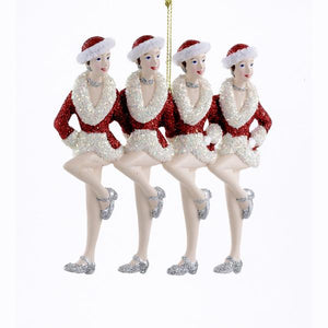 Kurt Adler Rockettes Showgirls Ornament, RK0008