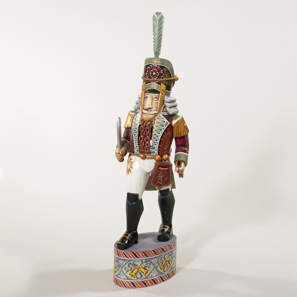 Kurt Adler 16-Inch Hand Carved Russian Nutcracker Soldier, RS0005