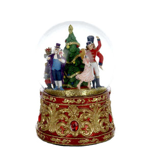 Kurt Adler 120MM Musical Lighted Nutcracker Water Globe, T2472