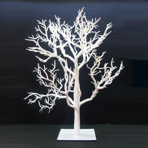 Kurt Adler 32-Inch Miniature White Twig Christmas Tree, TR0563