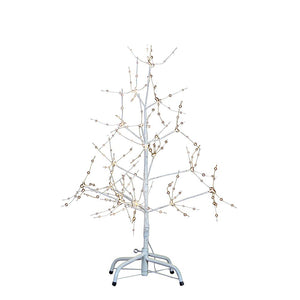 Kurt Adler 36-Inch White Bark Christmas Tree With Warm White LED Fairy Lights, TR3224
