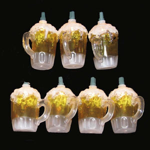 Kurt Adler Beer Mug Light Set, UL0565