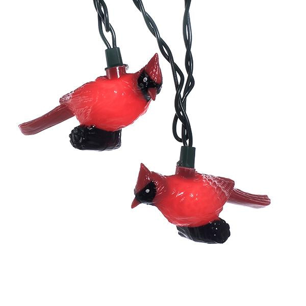 Kurt Adler Red Cardinal Light Set, UL0676