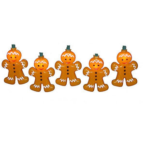 Kurt Adler Gingerbread Man Light Set, UL1419