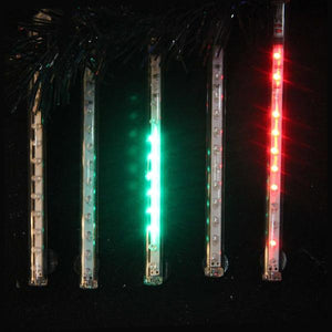 Kurt Adler 5-Light Multi-Colored Snowfall Add-On LED Light Set, UL2519N
