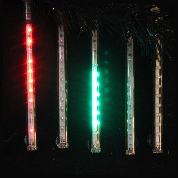 Kurt Adler 5-Light Outdoor Multi-Colored Snowfall LED Light Set, UL2572