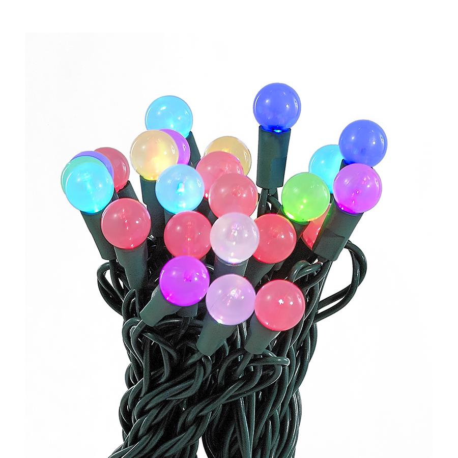 Kurt Adler 35-Light Color-Changing Ball Light Set, UL4104