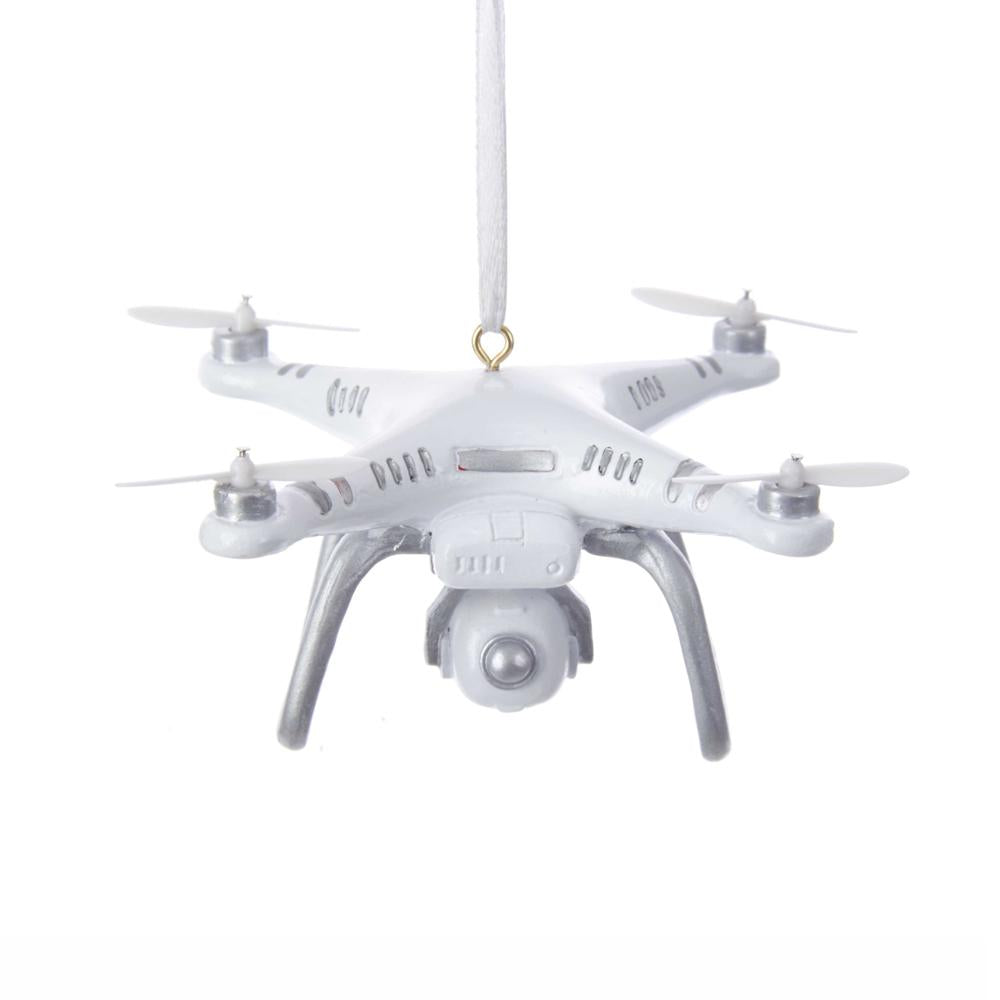 Kurt Adler Drone Ornament For Personalization, W8391