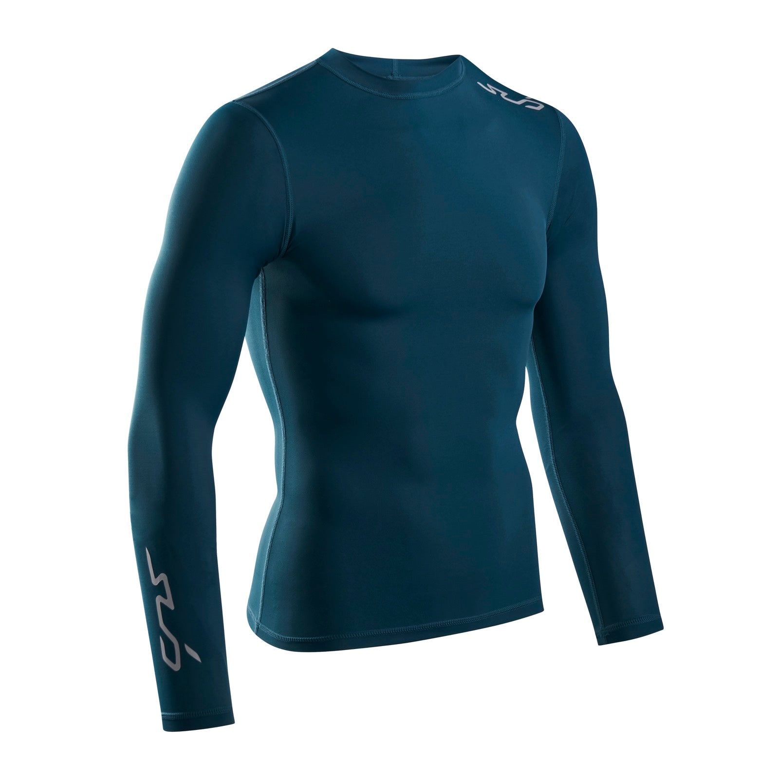 Sub Sports Dual 2.0 Long Sleeve Mens Compression Top Black Sports Base Layer