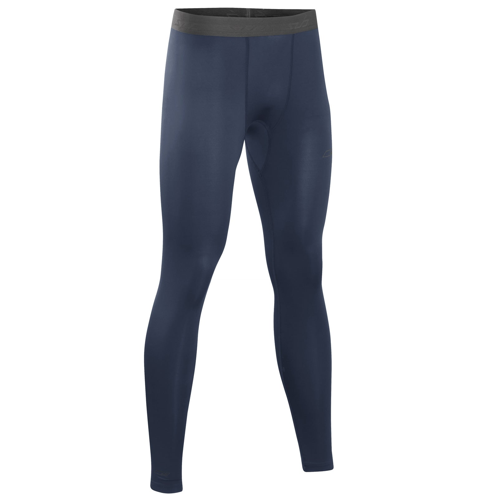 Sub Sports Core Recovery Mens Compression Tights Navy Blue Base Layer Leggings