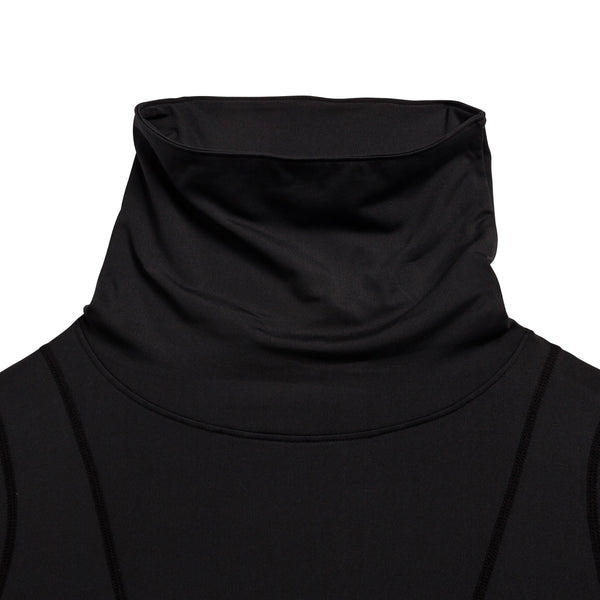 FITTED COLD MENS FUNNEL NECK THERMAL L/S TOP