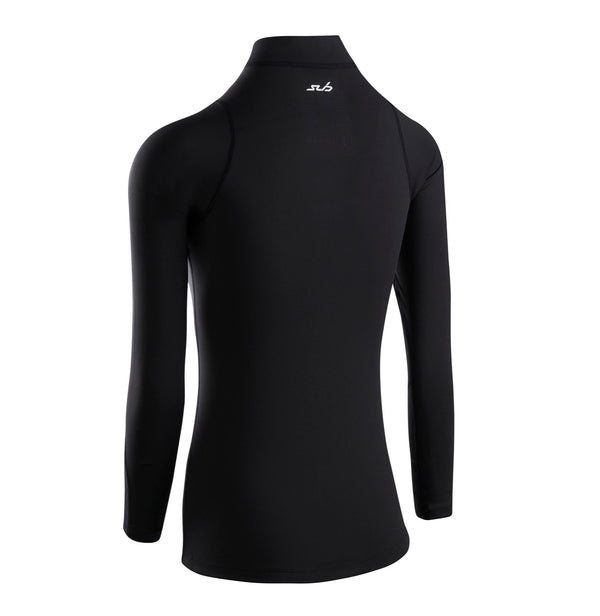 FITTED COLD WOMENS MOCK NECK THERMAL L/S TOP