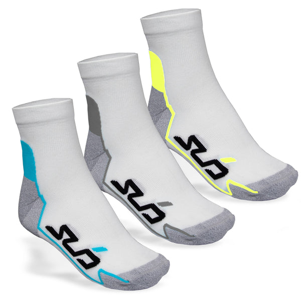 3 PACK DUAL ALL-SEASON RUNNING SOCKS