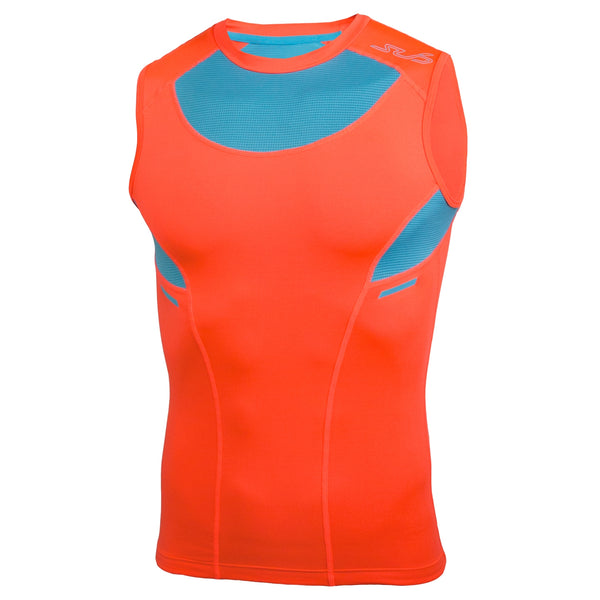 HEAT 2.0 MENS SEMI-COMPRESSION SLEEVELESS TOP