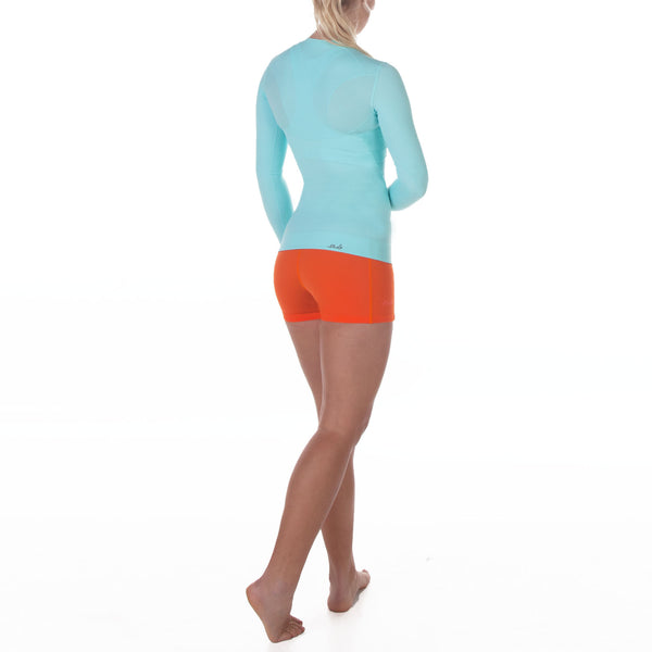 DUAL 2.0 WOMENS L/S COMPRESSION TOP