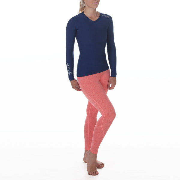 COLD WOMENS L/S COMPRESSION TOP