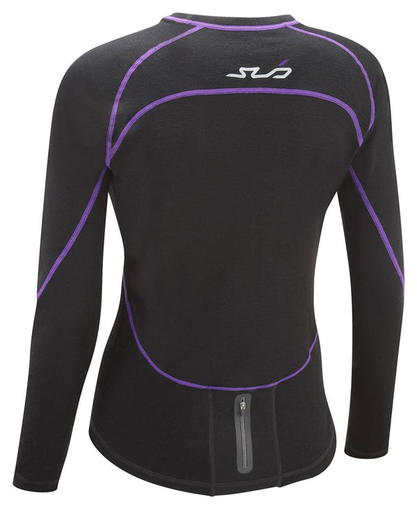 MERINO WOMENS L/S SEMI-COMPRESSION TOP