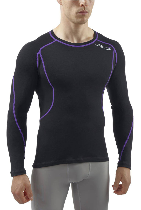 MERINO MENS L/S SEMI-COMPRESSION TOP