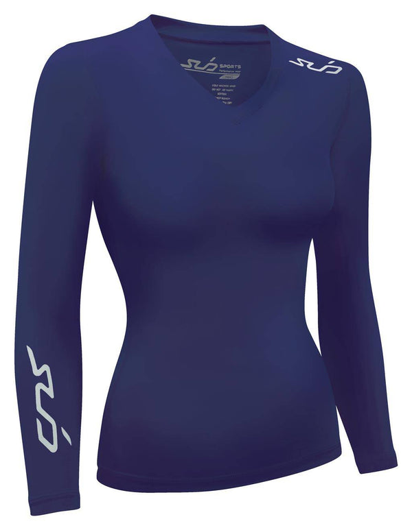 DUAL WOMENS L/S COMPRESSION TOP