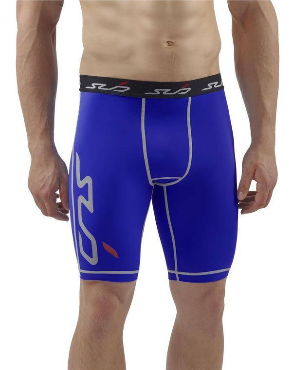 DUAL MENS COMPRESSION SHORTS