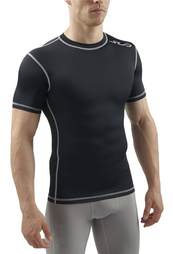 DUAL MENS S/S COMPRESSION TOP
