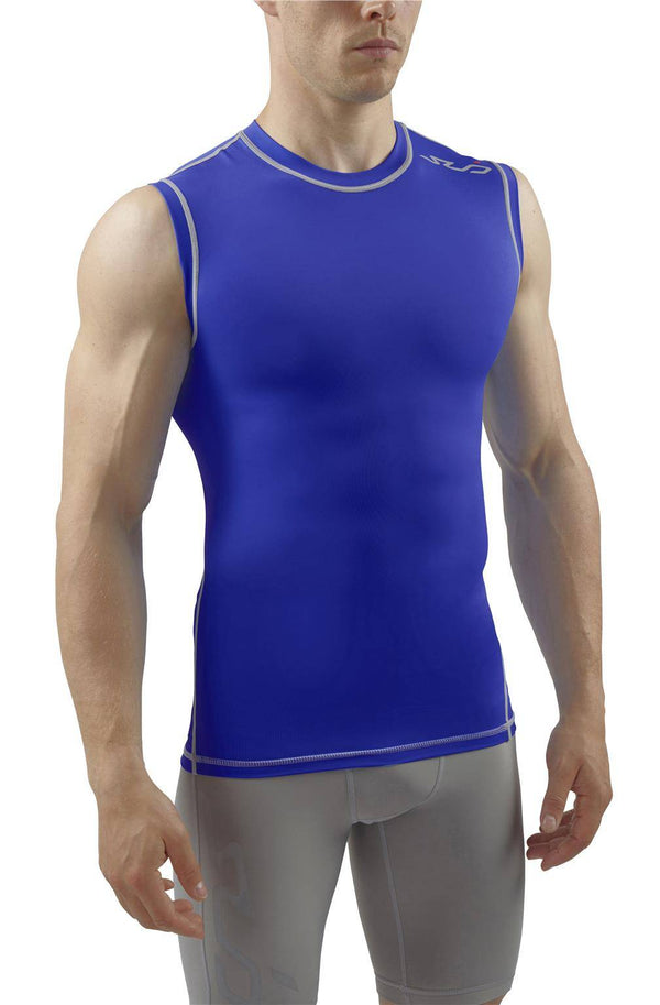 DUAL MENS SLEEVELESS COMPRESSION TOP