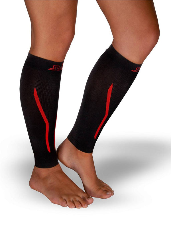 DUAL SEAMLESS COMPRESSION CALF SLEEVES / GUARDS