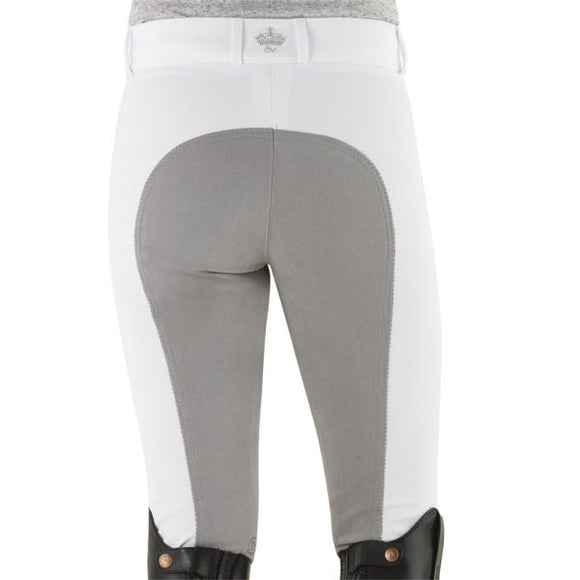 Ovation® Celebrity EuroWeave™ DX Full Seat Breeches,  White