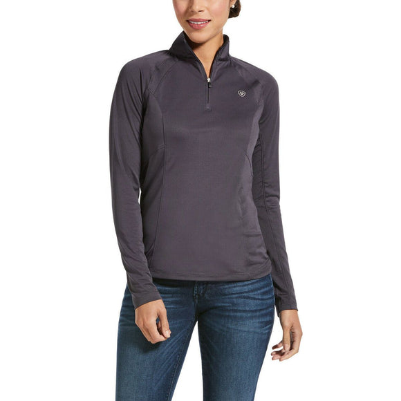 Ariat Sunstopper 2.0 1/4 Zip Baselayer,  Periscope