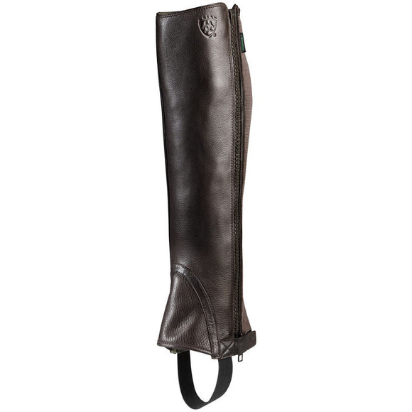 Ariat® Breeze Half Chap,  Chocolate