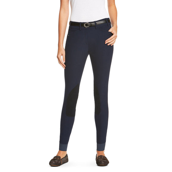 Ariat® Heritage Elite Knee Patch Breech,  Navy