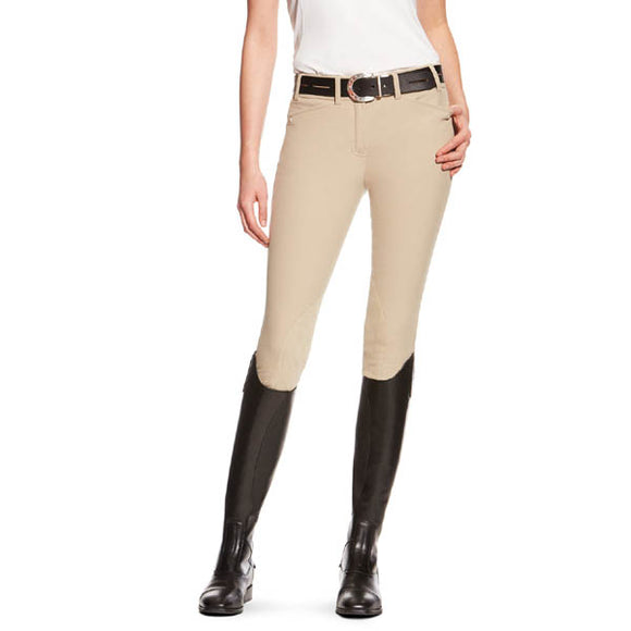 Ariat® Heritage Elite Knee Patch Breech,  Tan