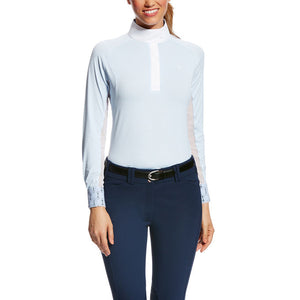 Ariat® Marquis Show Shirt, Blue Cloud Stripe