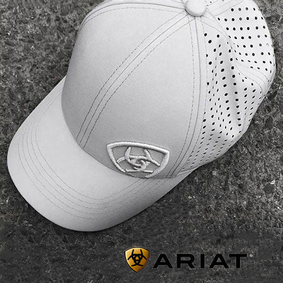 Ariat® Tri Factor Cooling Cap,  Silver Grey