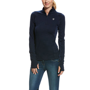 Ariat® Lowell 2.0 1/4 Zip Baselayer, Navy