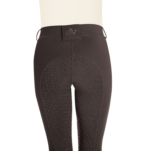 Ovation®  Aerowick Grip-Tec Full Seat Riding Tights,  Mocha