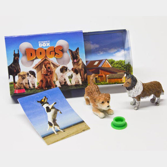 Breyer®Pocket Box Dogs
