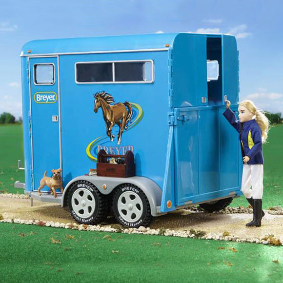 Breyer® Traditional Series Two Horse Trailer