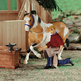 "Breyer® Farrier with Blacksmith Tools, 8"" Figure"
