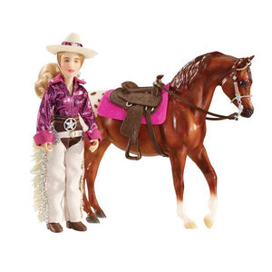 "Breyer® Kaitlyn, Cowgirl , 6"" Figure"