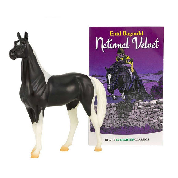 Breyer® National Velvet Horse & Book Set