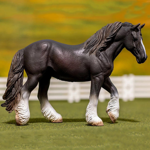 Breyer®by CollectA  Black Shire Mare